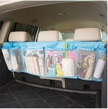 Car Vehicle Seat Back Hanging Organizer Collector Storage Hanging Holder Bag  Large Capacity Oxford Cloth+PP Material(China (Mainland))