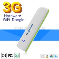 Free Shipping  Wireless 3G WiFi Modem WiFi Hotspot WiFi Sharing USB Dongle with SIM Card Slot