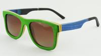 skateboard sunglasses women men real handmade wooden bamboo sun glasses aviator polarzied oculos de sol masculinos z68043