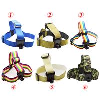 GoPro Head Strap Mount Colorful Go Pro Belt for GoPro Camera Hero 3 3+ Hero3 2 1 HD Accessories
