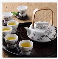 classical Taiwan Elong ceramic tea gaiwan sets Kung Fu tea cup set with teapot Japanese tea set tool drinkware tableware