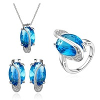 Free shipping! High quality big costume jewelry sets, latest party vintage jewelry sets