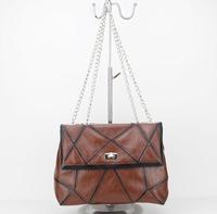 wholesale designer PU shoulder bag with metal straps Free shipping!!!