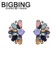 BigBing  jewelry fashion crystal earrings earrings dangle earring good quality  nickel free Q686