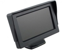 "4.3"" Color LCD Car Rearview Monitor for Camera DVD VCR car rearview displayer free shipping"