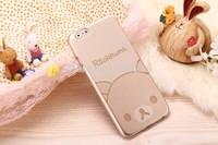 New Fashion Tyrant Gold Cartoon Hello Kitty Doraemon Hard Cover Back Ultra Thin Case For iphone 6 6 plus  Hot