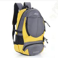 New 2014 Fashion Casual men's backpacks Patchwork Thread bag Nylon women Backpack travel bags Camping bag Free shipping mochila