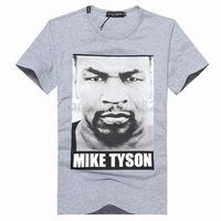 Men's T-shirt cotton - Hot Summer Dolc Men's Round Neck Collar Sport T-Shirt Tee Shirt  D3 Muhammad Tyson head