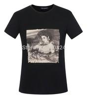 Men's T-shirt cotton - Hot Summer Dolc Men's Round Neck Collar Sport T-Shirt Tee Shirt  D03 G