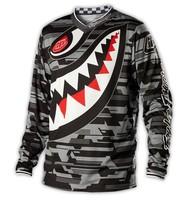 2014 NEW motocross Jerseys Dirt bike cycling bicycle MTB downhill shirts motorcycle t shirt Racing Jersey ,Dark grey