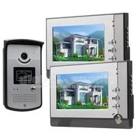 7 inch Handfree Color LCD Display Video Door Phone Enter Intercom Doorbell Card Key Reader RFID IR Night Vision Camera 805MEID12