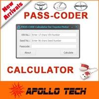 Original Development Tool PASS CODE Calculator  for Toyota Lexus Scion models Auto Programming keys