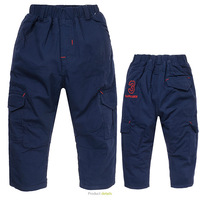 Brand Children pants thick winter warm fleece kids pants boys winter trousers kids outdoor pant* baby clothing for 3-8Y
