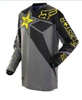 Dark grey2014 NEW motocross Jerseys Dirt bike cycling bicycle MTB downhill shirts motorcycle t shirt Racing Jersey,Dark grey