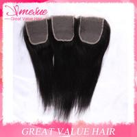 Rosa Hair Products Brizilian Lace Closure Straight 1pcs Lot Swiss Top Lace Closure Freestyle Ms Lula Brazillian Straight