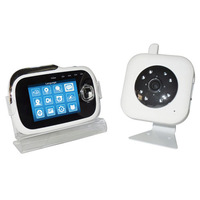 3.2 inch TFT Screen digital wireless baby camera monitor support TF Micro SD card Free Shipping