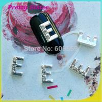 100pcs of New Arrive Letter E 3D Nail Art Jewelry Accessories Professional nail art supplier wholesale