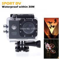 Action micro Camera Diving Full HD DVR DV SJ4000 30M Waterproof extreme Sport Helmet 1920*1080P Gopro Camcorder DVR Sports DV
