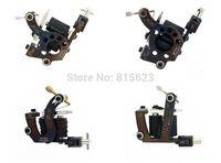 Drop shipping 4Pcs Professional Cast Iron tattoo machine gun 10 Wrap Coils Steel Frame Tattoo Machine Gun  Liner Shader