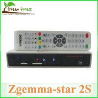 Zgemma-star 2S Twin Tuner DVB-S2 Zgemma star 2S support IPTV streaming server DVBS2+S2 CPU751MHz BCM MIPS Precessor Linux OS