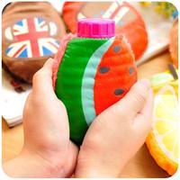 mini fruit shape hot water bottle  winter mini hot water bag hand warmer for women
