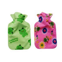 10pcs/lot mini- size cloth flush  hot water bottle  Hot water bag