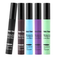 Waterproof Cosmetic Makeup Color Mascara Eyelash Longlasting Eye Lashes