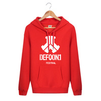 The latest version Spring and Winter Hoodie defqon.1 Rock and Roll Band HOODY Sports and Leisure sweater Thick coat