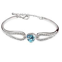 Austrian crystal bracelet - sweet personality characteristics of new high-end Korean fashion bracelets wholesale