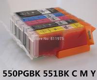 550 551 pgi550 cli551 550xl 551xl Ink cartridge for canon IP7250 MG5450 MX925 MG5550 MG6450 MG5650 MG6650 IX6850 MX725 MX925
