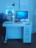 Metal marking machine fiber 20w worktable size 100mm*100mm
