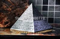 Classic retro decorative carving creative pyramid Pyramid ashtray ashtray