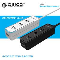 ORICO W5PH4-U2 High Speed 4 Port USB 2.0 Hub Laptop PC External Extension Cable Adapter