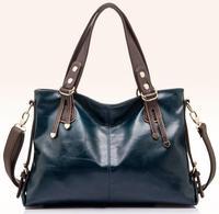 2015 Casual   Desigual Brand Women Handbag Burnished Leather Shoulder Bags Women Messenger Bags Bolsas 3 Colors
