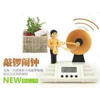Novelty 1co alarm clock 1co alarm clock clock lazy alarm clock large led digital display