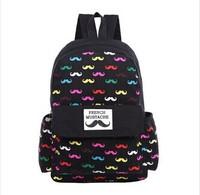 4 Colors 2015 New vintage rucksack school bag satchel canvas women travel bags laptop beard mochila masculina bolsas femininas
