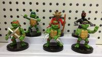 TMNT Teenage Mutant Ninja Turtles Action Figure Dolls 5-6cm Anime toys 6 pcs/lot for the boys Gift