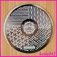 Free Shipping   Stamping Nail Art  8pcs/lot  hehe042  Nail Image Plates Art