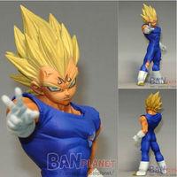 New Arrival  Banpresto Dragon Ball Z Kai DXF Fighting Combination Vol 1 Majin Vegeta Figure PVC Action Figure Model Toy