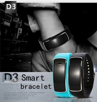 Waterproof Bluetooth Smart Watch D3 Health Bracelet Smart Wristband Remote Control Smart Gear Passometer for IOS /Android Phone