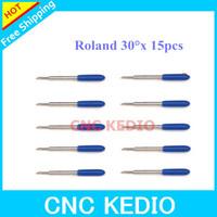 15pcs 30 Roland Blades CNC KEDIO  Vinyl Cutter Plotter High  Free Shipping
