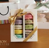 Window Macaron boxe,cake box, 20PCS/LOT