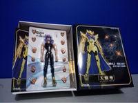 LC Model Scorpio Milo Saint Seiya Myth Cloth Gold Ex Scorpio Milo Figure Model Toys For Children's Assembly Gift