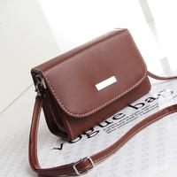 2014 women's handbag small bag mobile phone bag vintage with mirror cosmetic bag shoulder cross-body women's bags bolsas
