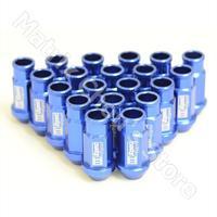 D1 Spec Light Weight Wheel Nuts Wheel Lug Nuts 7075 Aluminium Alloy Racing Nuts BLUE Color