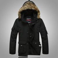 2014 HOT New Winter Parka Men Down Jacket Men's Down Coat Male Thick Warm Jacket Good Quality