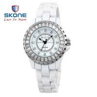 Hot Sell Authentic SKONE Brand Women Ceramic Watches Fashion Quartz Wristwatches Women Fashion Waterproof Wristwatch