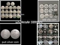 Mix  3800pcs Russain series coin,congo worldwilfe coin 800pcs+famouse event coin 1700pcs+old city coin 1200pcs+putin coin 100pcs