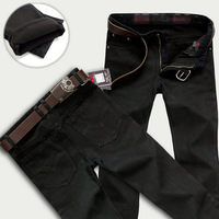 2014 Hot European and American style loose men jeans Thicker warm jeans men trousers Painted Jeans