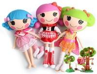 1pc retail 27cm MGA Lalaloopsy Doll button eye toys girl classic toys mini girl dolls Fashion Popular dolls girl gift Free ship